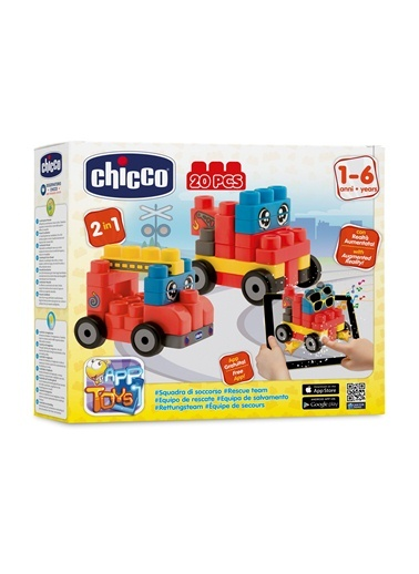 Toy Buıldıng Blocks Vehıcles Set 20 Pz-Chicco